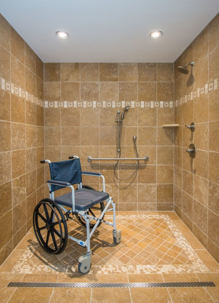 Jmc Homes for a Traditional Bathroom with a Handicap Accessible and Universal Design Master Suite & Bathroom Remodel by Jmc Home Remodeling