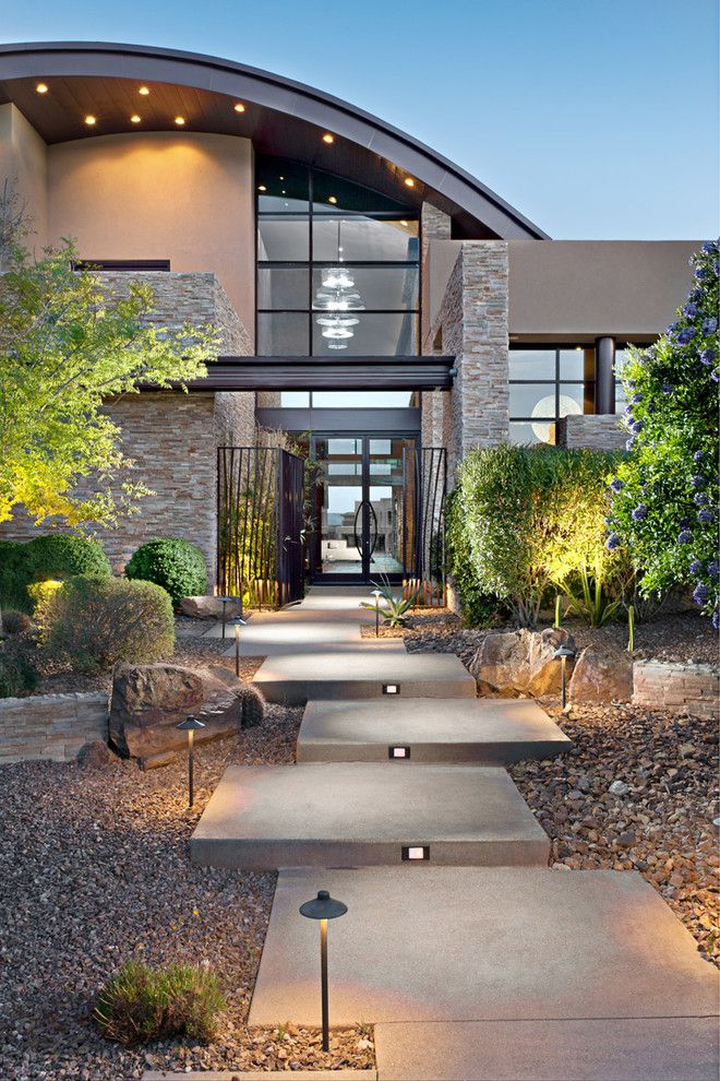 Juhl Las Vegas for a Contemporary Landscape with a Contemporary and Architectural by Byron Mason Photography