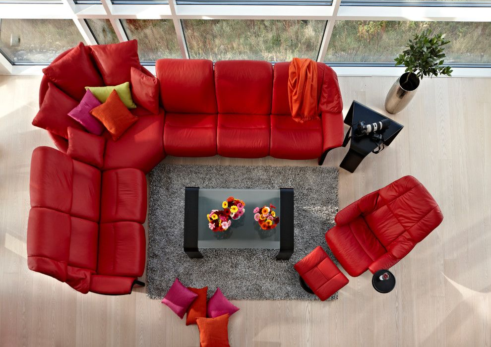 Juhl Las Vegas for a Contemporary Living Room with a Head Rest and Stressless by Ekornes   Chairs, Recliners & Sofas Imported From Norway by Ergo Beds
