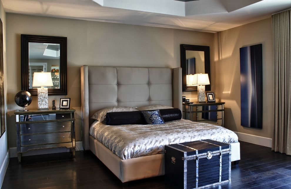 Juhl Las Vegas for a Traditional Bedroom with a Pillows and Kazazian Residence   Las Vegas by Interior Motives