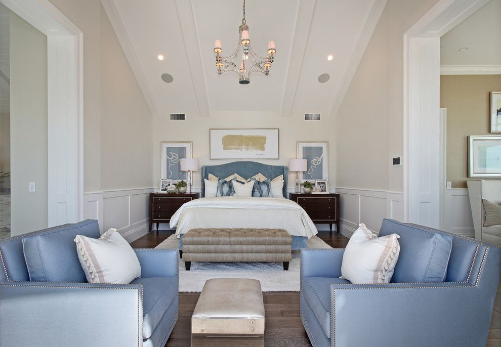 Julia Morgan Architect for a Beach Style Bedroom with a Newport Beach and Ocean Ii by Brandon Architects, Inc.