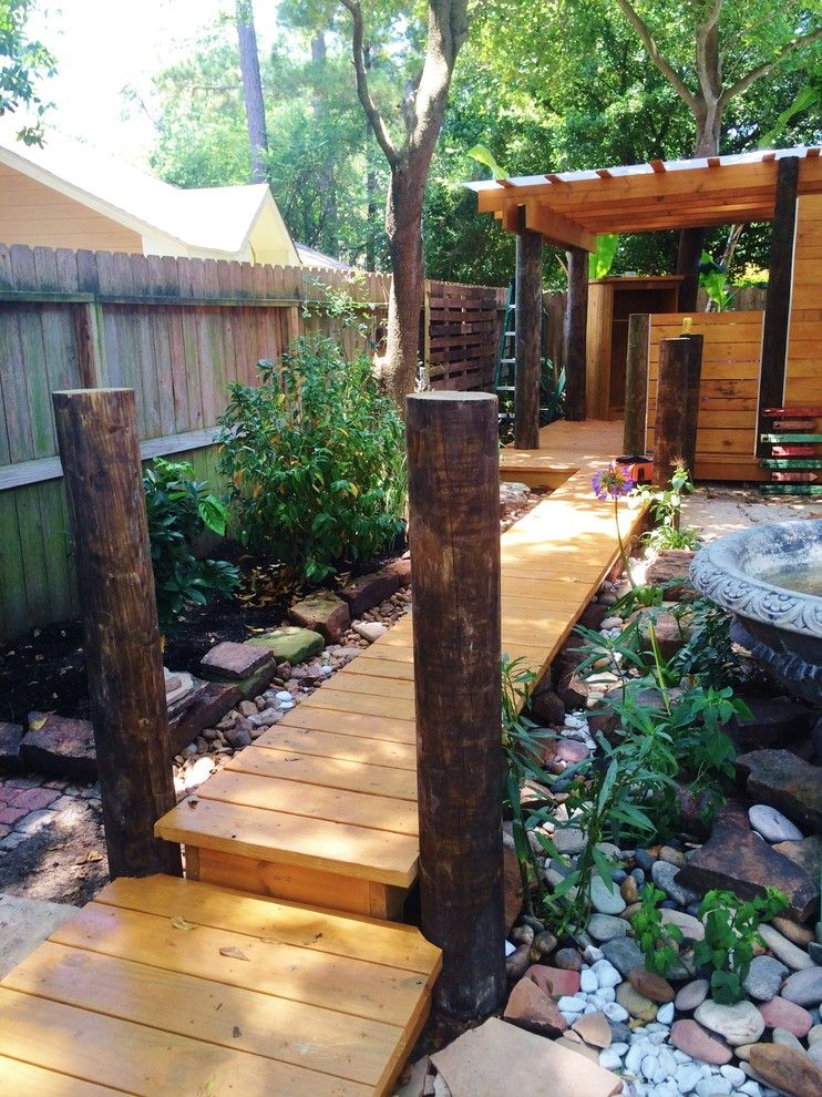Kabloom for a Eclectic Patio with a Landscape Redesign and Swifts 2015 by Kabloom Landscaping