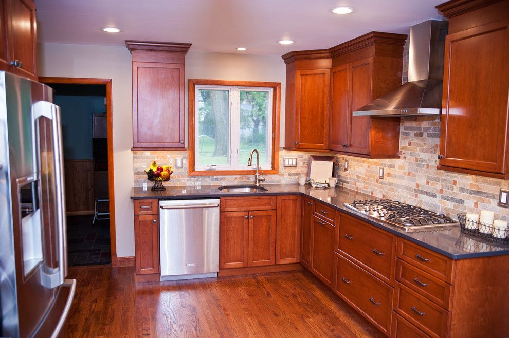 Kamco Building Supply for a Traditional Kitchen with a Stone and