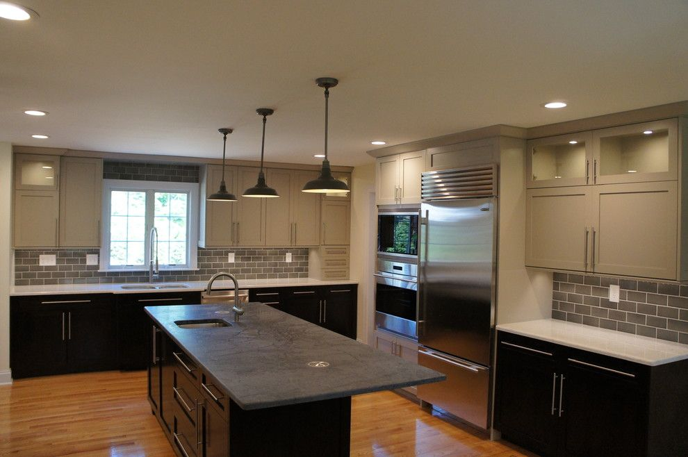 Kb Homes Denver for a Modern Kitchen with a Modern and Holstein Home Renovation by C&j Custom Builders Inc.