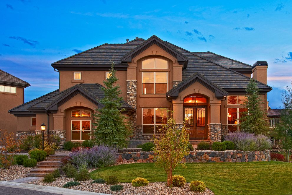 Kb Homes Denver for a Traditional Exterior with a Exterior Photo of 9585 Silent Hills Lane and Heritage Hills   9585 Silent Hills Lane by Celebrity Communities