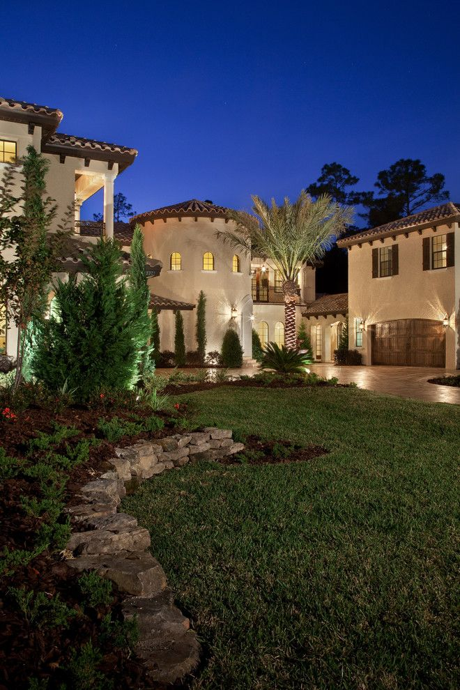 Kb Homes Orlando for a Mediterranean Exterior with a Mediterranean and Villa Verona by Jorge Ulibarri Custom Homes