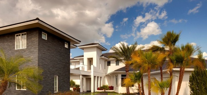 Kb Homes Orlando for a Modern Spaces with a Master Bedroom and Exterior Elevations by Sunscape Homes, Inc