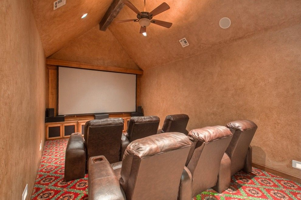 Keller Williams Chattanooga for a Rustic Home Theater with a Keller Williams and 19700 N Macarthur Blvd Edmond, Ok   Wyatt Poindexter Keller Williams Realty by Wyatt Poindexter of Keller Williams Elite