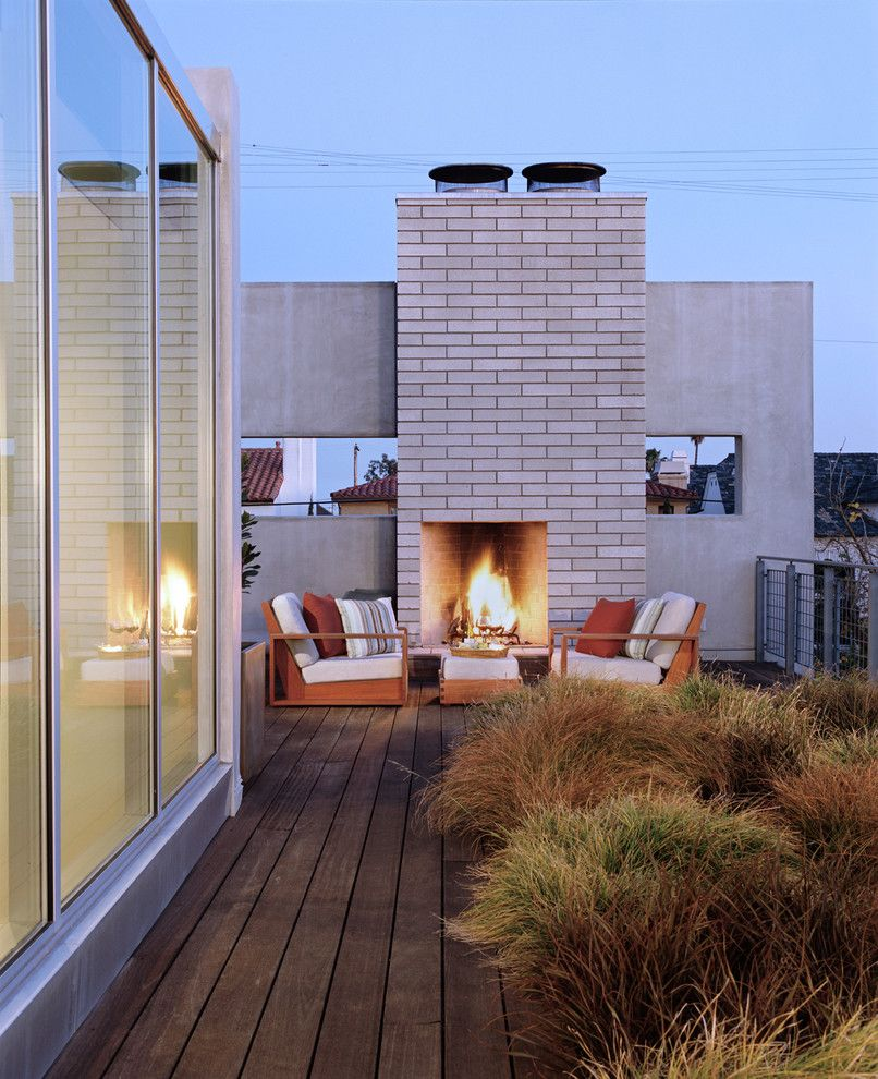 Ken Burns Prohibition for a Modern Deck with a Deck and Newport Beach Residence by Paul Davis Architects