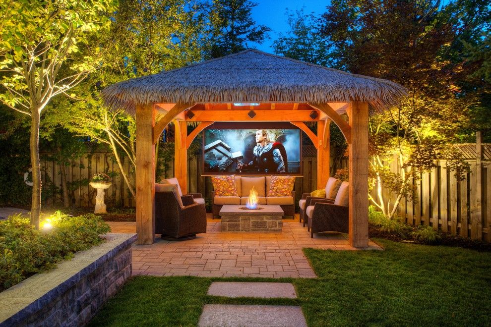 Ken Burns Prohibition for a Tropical Patio with a Stepping Stones and Summit Ridge Drive Project by Cedar Springs Landscape Group