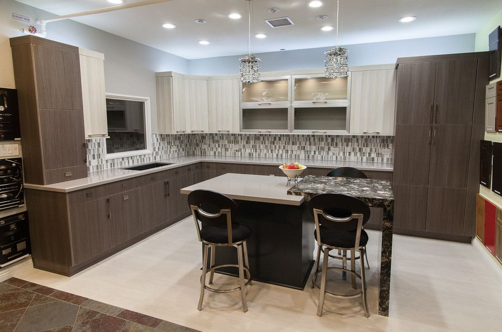 Kensho for a  Spaces with a Maple Wood and Kitchen's Etc. Showroom 2014 by Kitchens Etc. of Ventura County