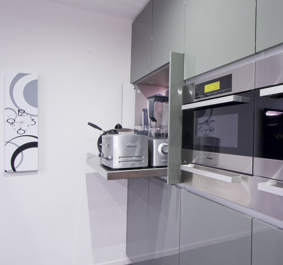 Kettle Moraine Appliance for a Modern Kitchen with a Modern and Contemporary Kitchen by Darren James Interiors
