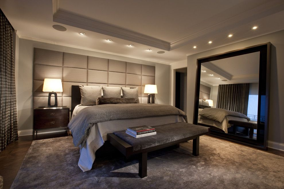 King Size Comforter Dimensions for a Traditional Bedroom with a White Wood and Lincoln Park West Master Bed a by Michael Abrams Limited