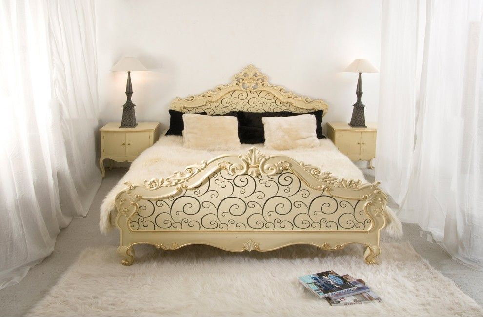 King Size Pillow Dimensions for a Eclectic Bedroom with a Throw Pillows and Bedroom by Elad Gonen