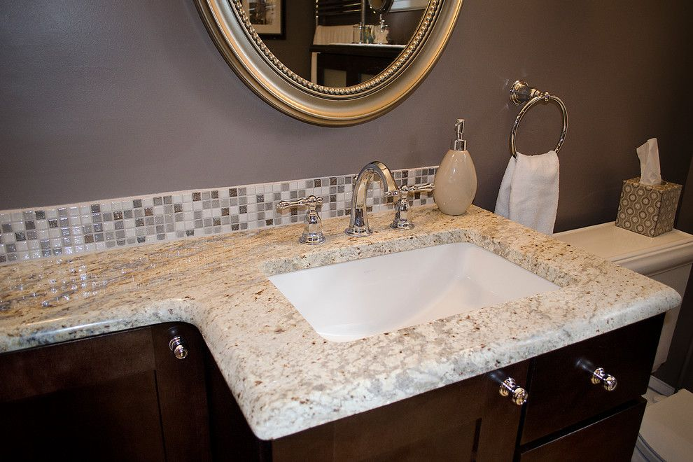 Kinkos Philadelphia for a Traditional Bathroom with a Taupe Paint and Wayne Design/remodel Bathroom Project by Grande Decor
