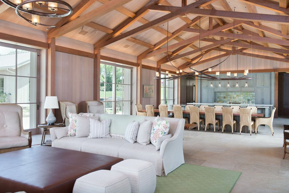 Kitchen Table Omaha for a Craftsman Kitchen with a Living Edge Table and Midwest Family Compound by Kitchen Studio: Kansas City