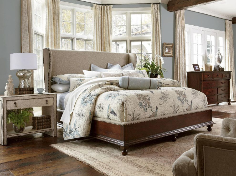 Knoxville Wholesale Furniture for a Traditional Bedroom with a Blue and Bedroom Furniture by Birmingham Wholesale Furniture