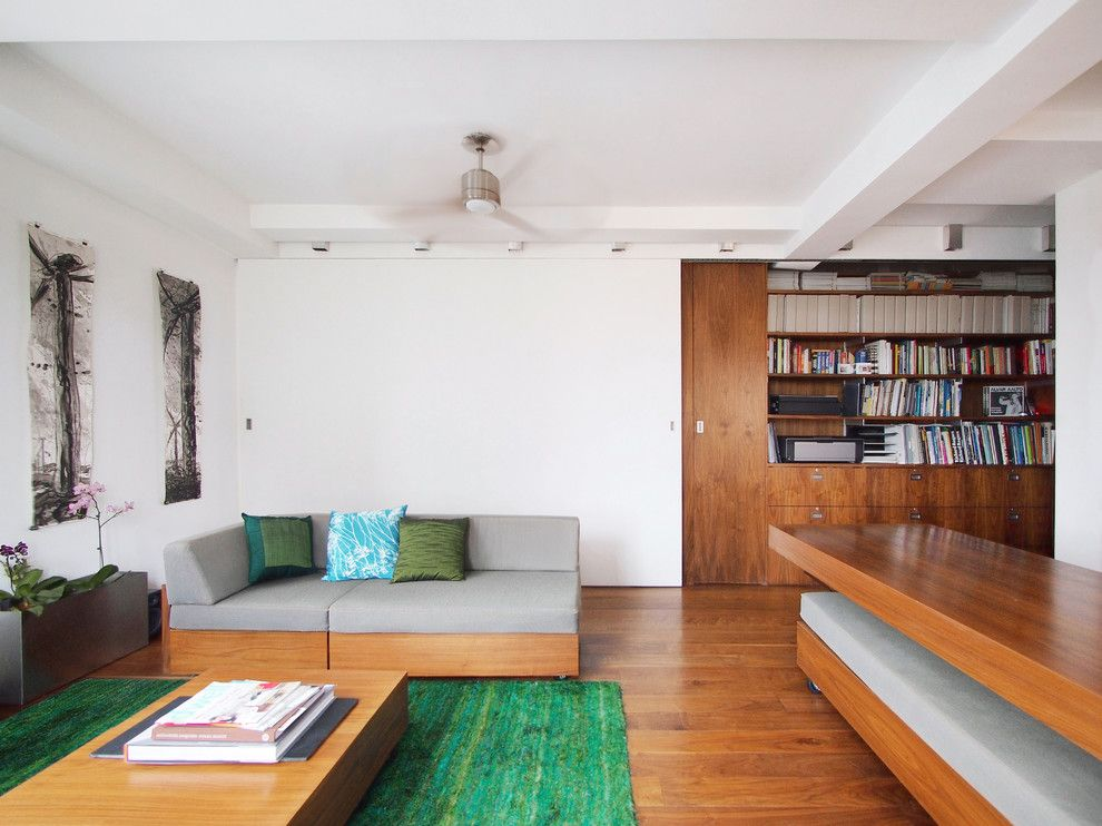 Koehler Home Decor for a Modern Living Room with a Coffee Table and Transformer Loft by Architecture Workshop Pc