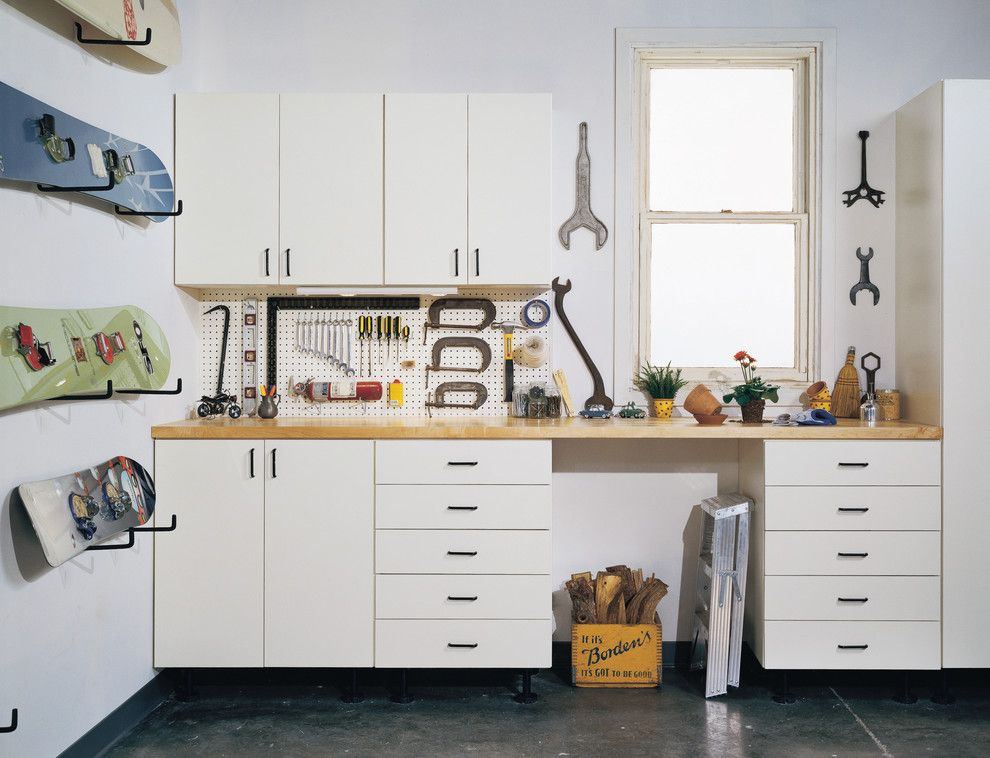 Koit for a  Spaces with a Wall Storage and Garage by California Closets Maryland