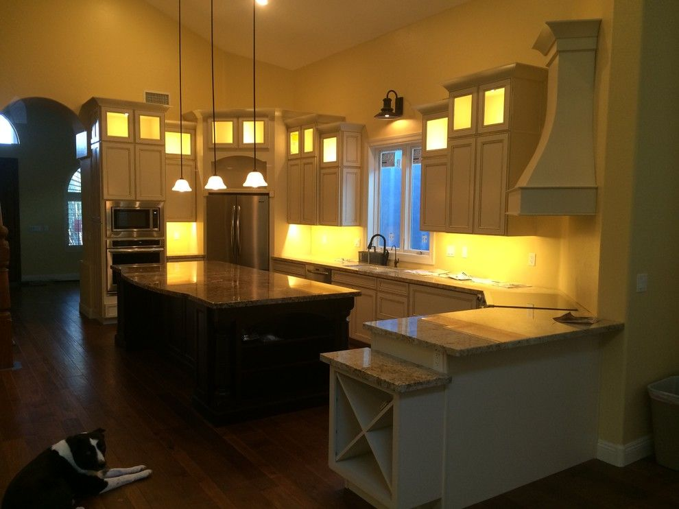 Kolb Electric for a  Kitchen with a  and Greatroom Kitchen Space Remodel by Willsellaz