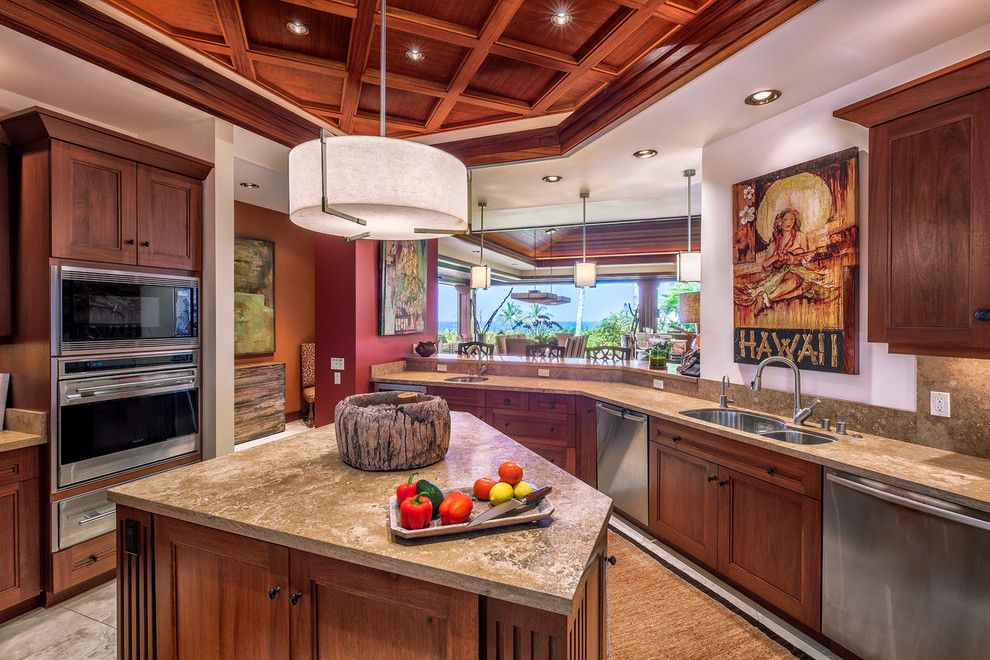 Kukio for a  Kitchen with a Kitchen and Serene Luxury   Kukio Phase 3, South 7 by Carrie Nicholson, Rb, Bic, Hl1 Director