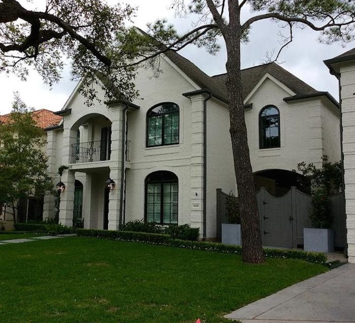 La Hacienda Houston for a  Exterior with a Houston Designer and Weinstein Home by Lamay Designs
