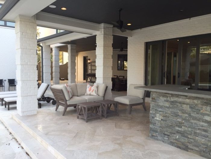 La Hacienda Houston for a  Patio with a Interior Designer Houston and Weinstein Home by Lamay Designs