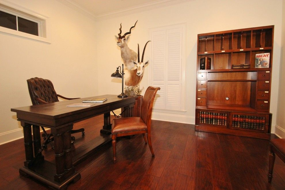 Lafayette Hotel Buffalo for a Traditional Home Office with a Unique Organizers and Darce Residence by Van Alan Homes