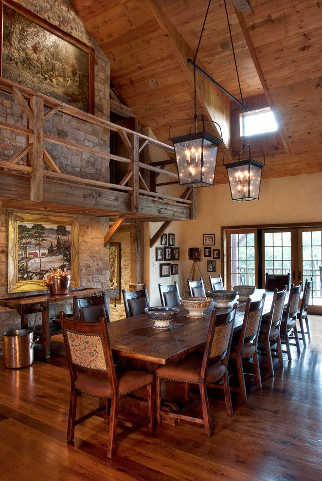 Lafayette House Nj for a Farmhouse Dining Room with a Barn Residence and Nj Country Estate by Wolstenholme Associates, Llc