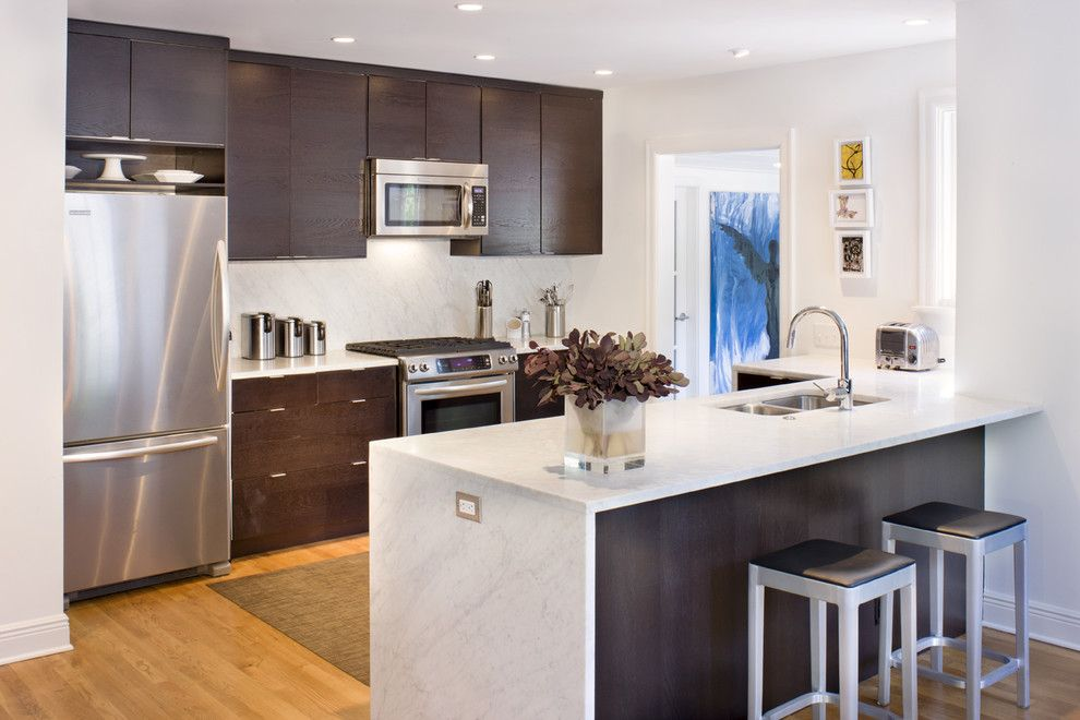 Lafayette House Nj for a Modern Kitchen with a Recessed Lighting and Lafayette Residence by Texas Construction Company