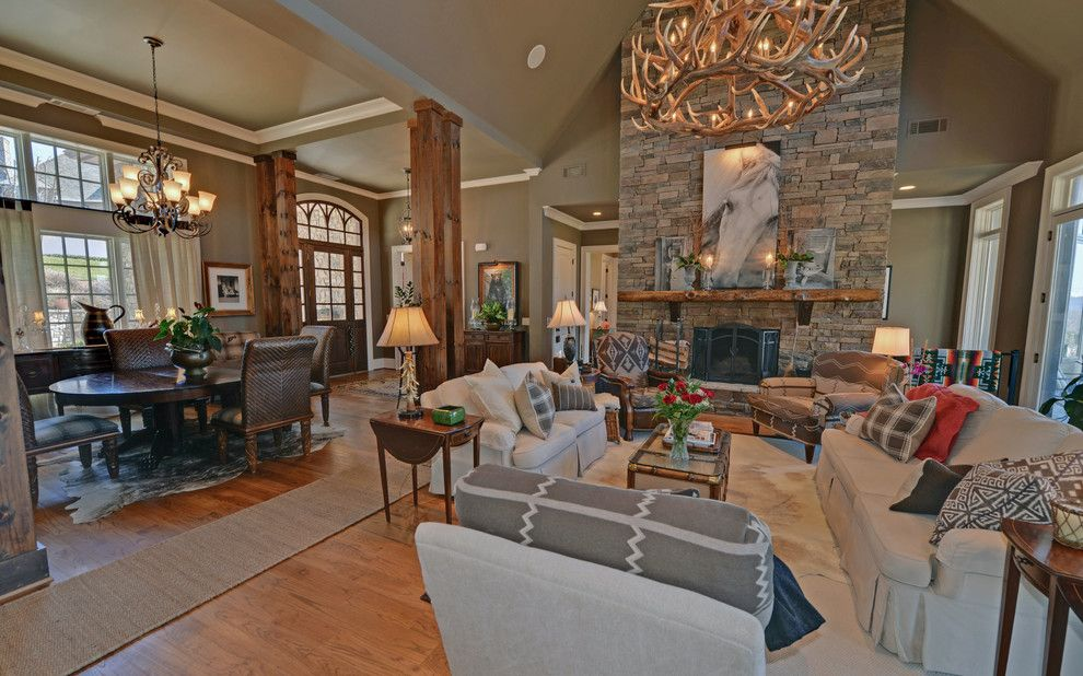 Lake Almanor Country Club for a Craftsman Living Room with a Burton Club and Waterfall Country Club / Lake Burton Club by Envision Web