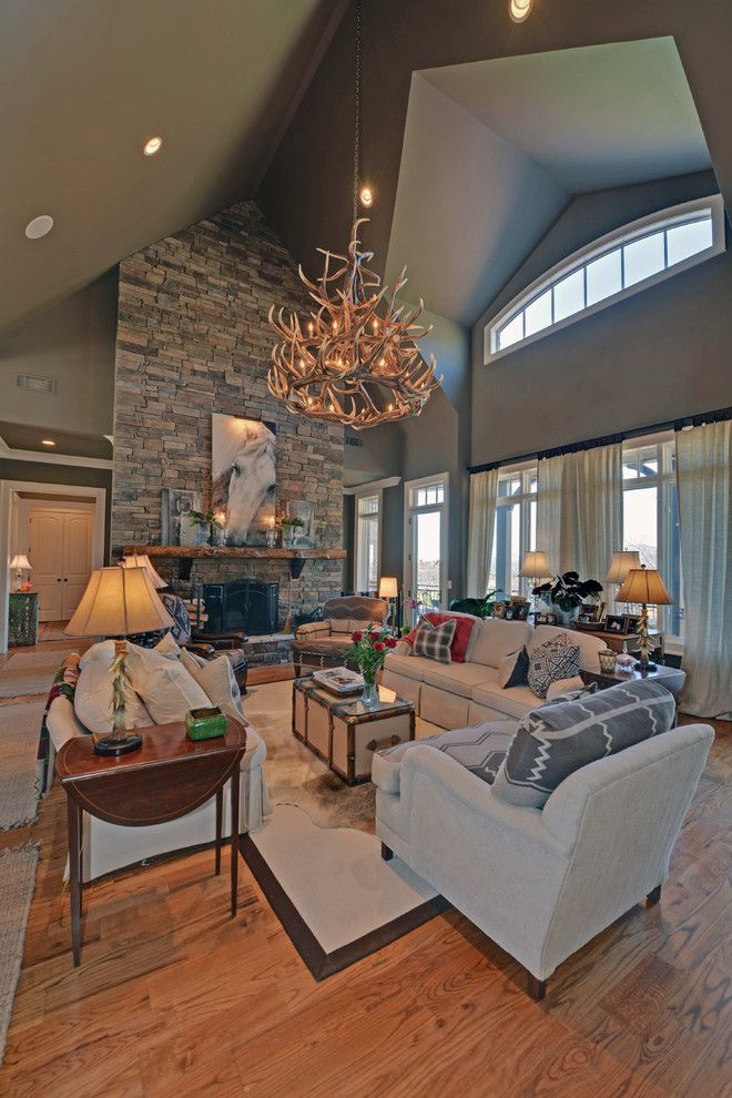 Lake Almanor Country Club for a Craftsman Living Room with a Waterfall Club and Waterfall Country Club / Lake Burton Club by Envision Web