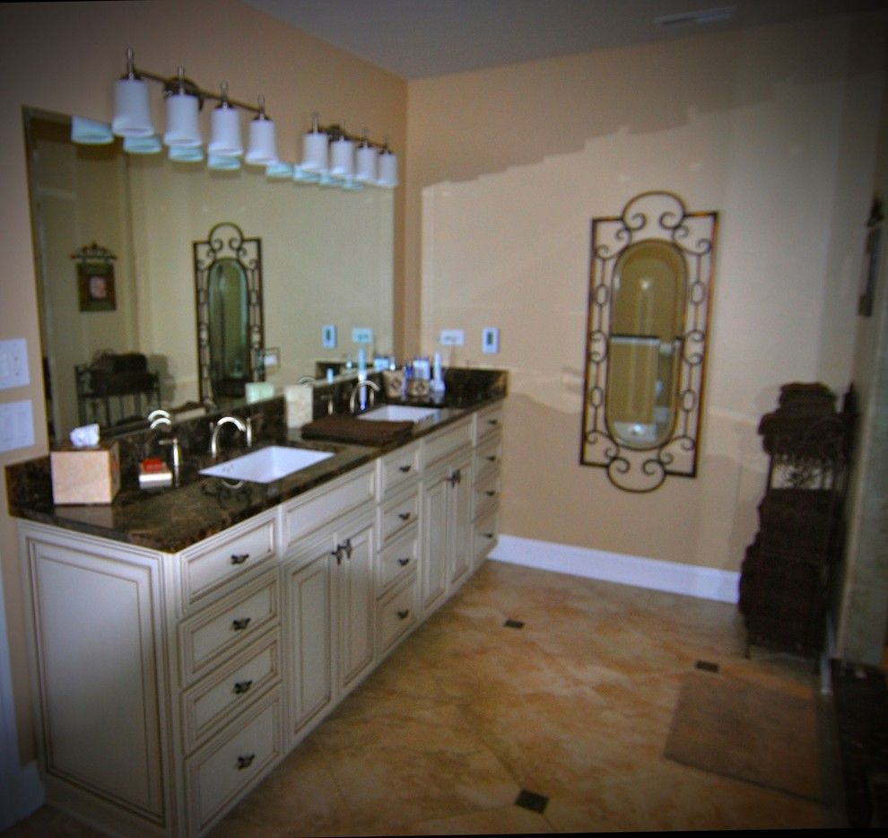 Lake County Ymca for a Rustic Bathroom with a Cabinets and D Andrea by Ac Home Design Llc