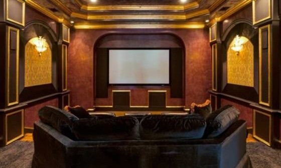 Lake Elsinore Theater for a Contemporary Home Theater with a Lakeland and Home Theater by Home Theater Experts Lakeland Winter Haven Florida