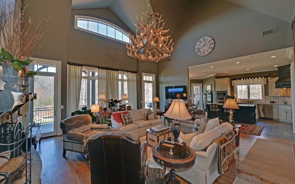 Lake Nona Country Club for a Craftsman Living Room with a Georgia and Waterfall Country Club / Lake Burton Club by Envision Web