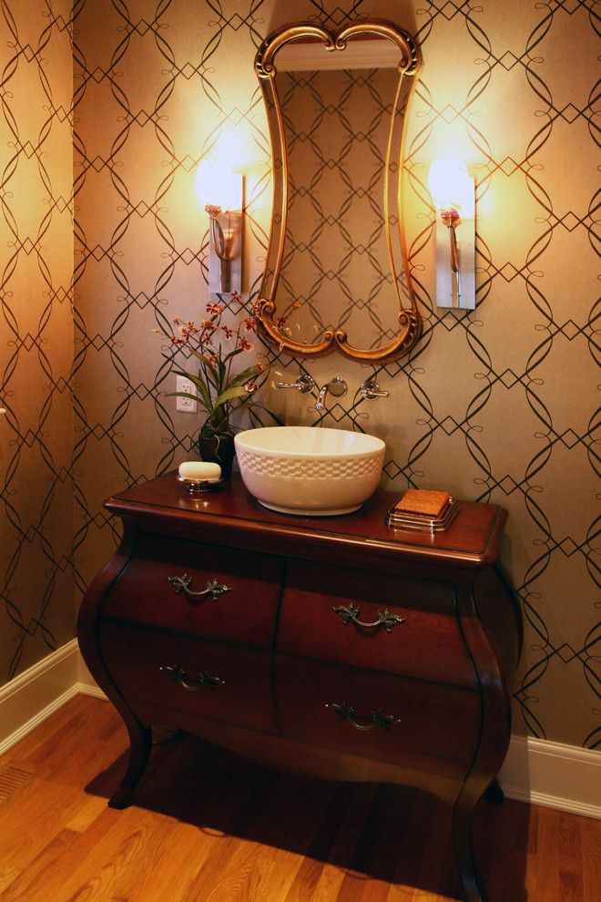 Lancasters for a Contemporary Bathroom with a Lancaster and Chestnut Georgian by David Lyall Home & Design