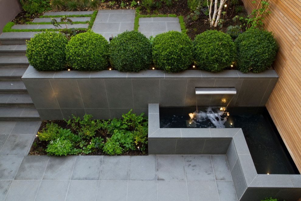 Landform for a Contemporary Landscape with a Contemporary Design and Past Work by Landform Consultants Ltd