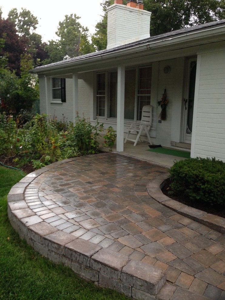 Landform for a Traditional Landscape with a Barrier Free Access and Handicap Access Ramp by Landforms