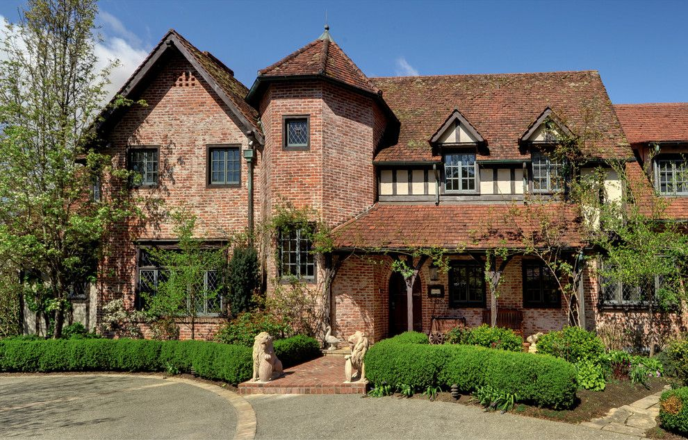 Laney Real Estate for a Traditional Exterior with a Leaded Glass and Old World Style by Dennis Paige Real Estate