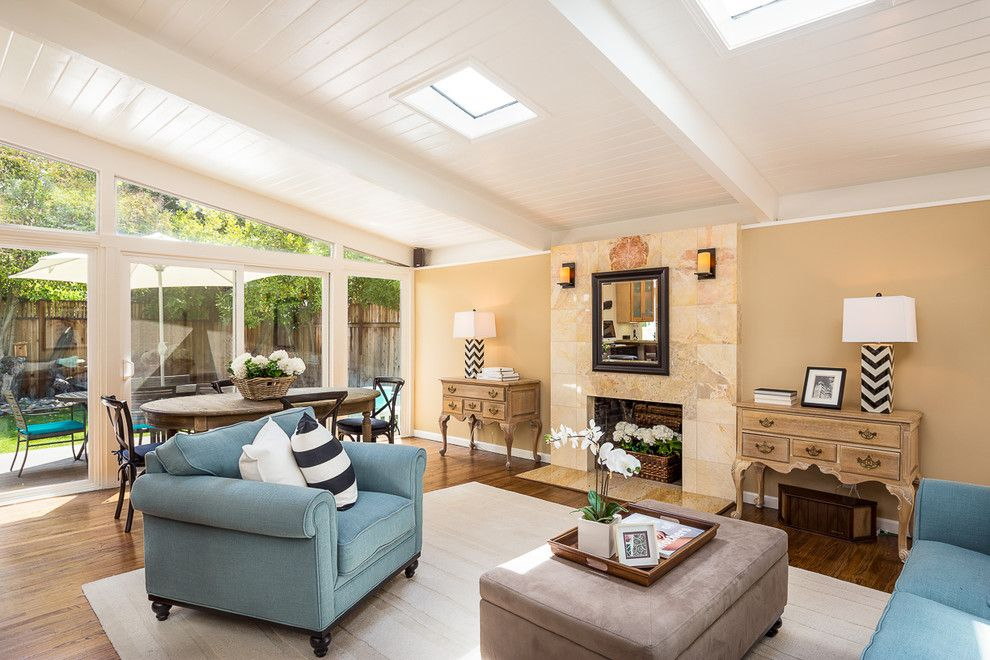 Laney Real Estate for a Traditional Living Room with a Mirror Above Fireplace and My Previous Sales by Kathleen Pasin- Sereno Group Real Estate