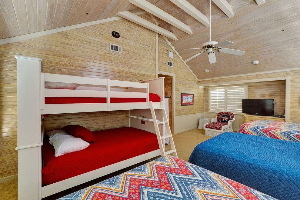 Larchmont Real Estate for a Beach Style Bedroom with a Beige Bunk Bed and 65 Kokomo by Emerald Coast Real Estate Photography