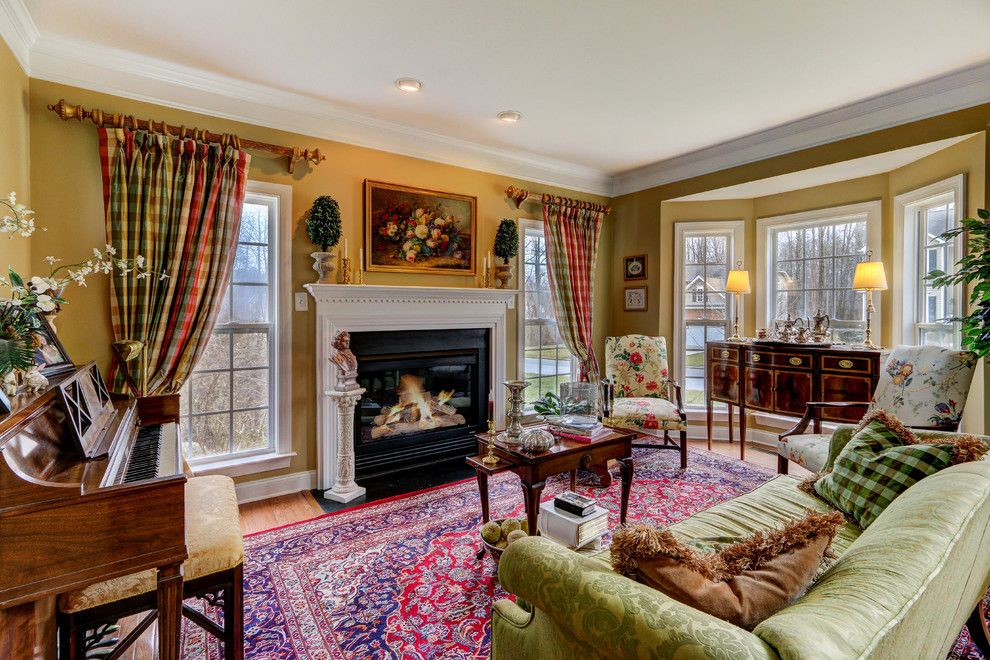Larchmont Real Estate for a Traditional Living Room with a Traditional and Interior by Everything From Above Real Estate Photography