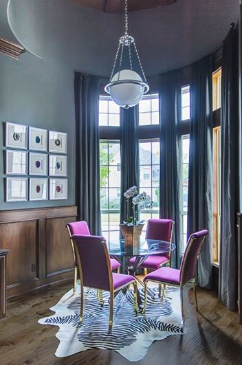 Larkins for a Traditional Home Office with a Orchids and Blues by Emily Johnston Larkin