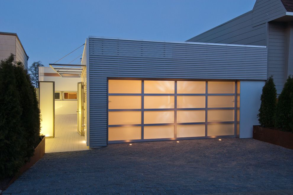 Larsondoors.com for a Modern Entry with a Outdoor Lighting and Golden Gate Heights by Dwyer Design