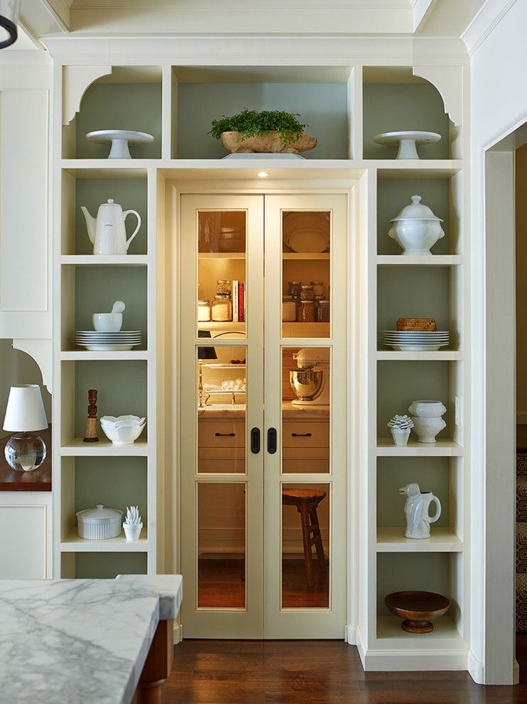 Larsondoors.com for a Traditional Kitchen with a Traditional and San Francisco Mediterranean by Lorin Hill, Architect