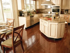 larsondoors.com for a Traditional Kitchen with a Wooden Chairs and Kitchen by Carpet One Floor & Home