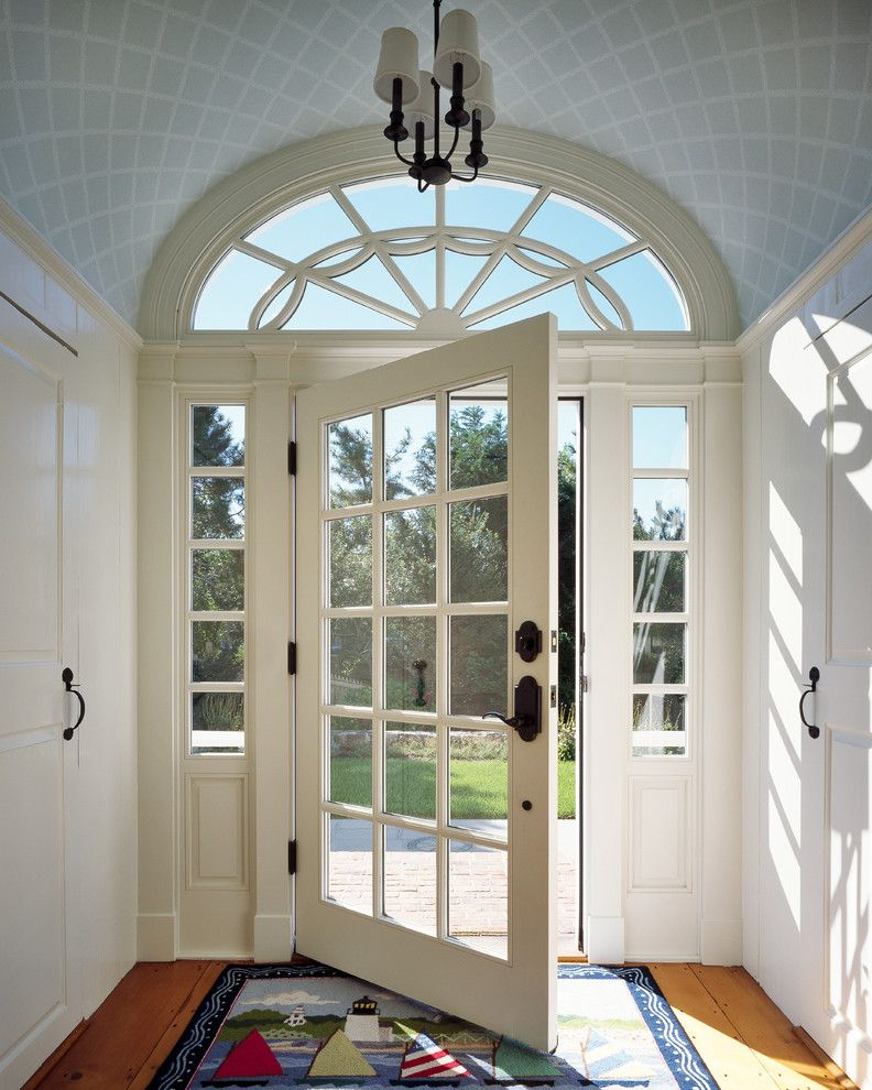 Larsondoors.com for a Victorian Entry with a Traditional and Riptide by Polhemus Savery Dasilva