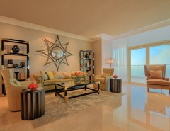 Le Reve Reviews for a Contemporary Living Room with a Dubai and Royal Penthouse, Le Reve, Dubai Marina by Signature Stagers - Luxury Home Staging