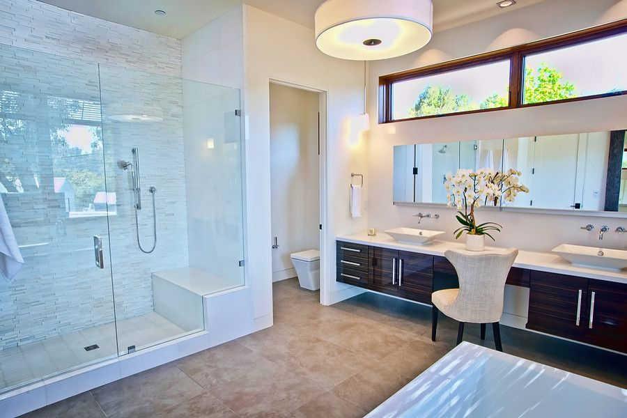 Leeds Certification for a Contemporary Bathroom with a Leed Silver and Vision House Los Angeles by Structure Home