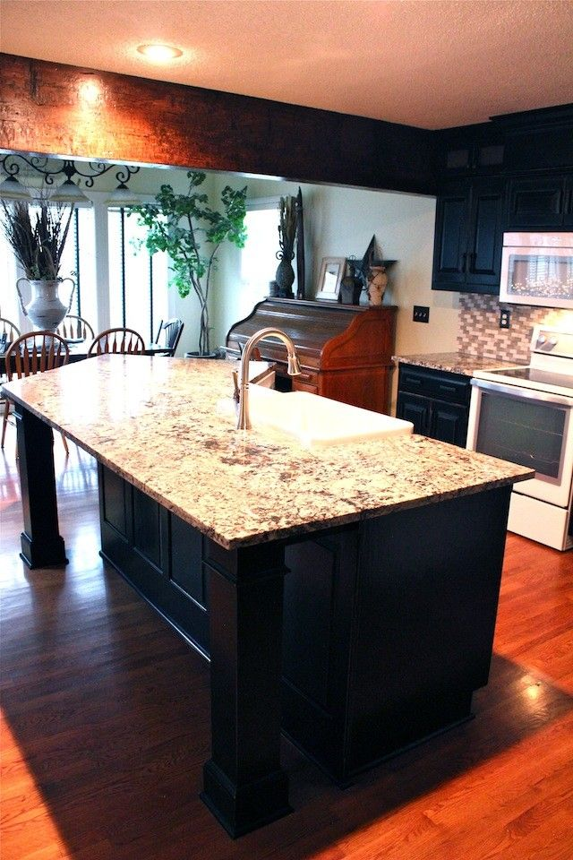 Lees Summit Honda for a Eclectic Spaces with a Granite Counters and Lee's Summit, Missouri: Kitchen Renovation by Guehne Made